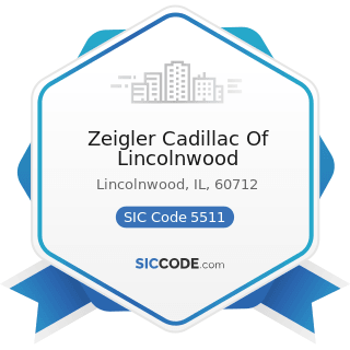 Zeigler Cadillac Of Lincolnwood - SIC Code 5511 - Motor Vehicle Dealers (New and Used)