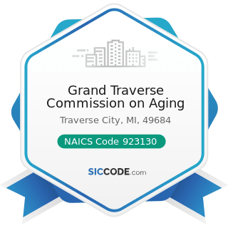 Grand Traverse Commission on Aging - NAICS Code 923130 - Administration of Human Resource...
