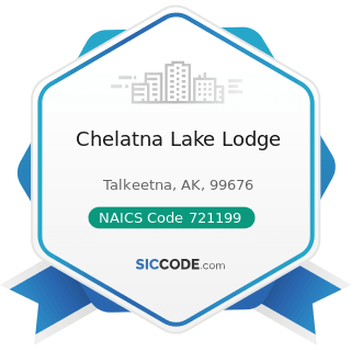 Chelatna Lake Lodge - NAICS Code 721199 - All Other Traveler Accommodation