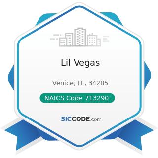 Lil Vegas - NAICS Code 713290 - Other Gambling Industries