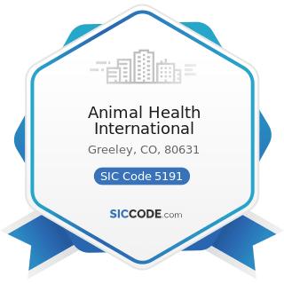 Animal Health International - SIC Code 5191 - Farm Supplies