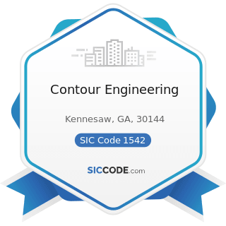 Contour Engineering - SIC Code 1542 - General Contractors-Nonresidential Buildings, other than...