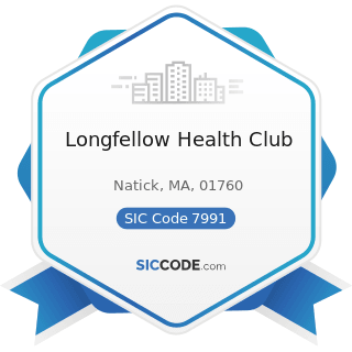 Longfellow Health Club - SIC Code 7991 - Physical Fitness Facilities