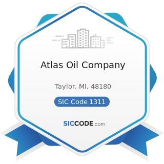 Atlas Oil Company - SIC Code 1311 - Crude Petroleum and Natural Gas
