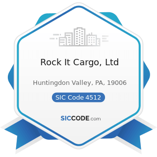 Rock It Cargo, Ltd - SIC Code 4512 - Air Transportation, Scheduled