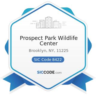 Prospect Park Wildlife Center - SIC Code 8422 - Arboreta and Botanical or Zoological Gardens