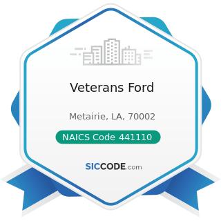 Veterans Ford - NAICS Code 441110 - New Car Dealers