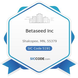 Betaseed Inc - SIC Code 5191 - Farm Supplies