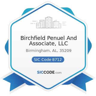 Birchfield Penuel And Associate, LLC - SIC Code 8712 - Architectural Services