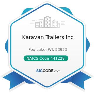 Karavan Trailers Inc - NAICS Code 441228 - Motorcycle, ATV, and All Other Motor Vehicle Dealers