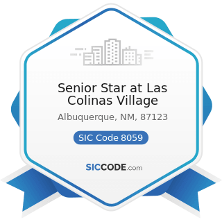 Senior Star at Las Colinas Village - SIC Code 8059 - Nursing and Personal Care Facilities, Not...