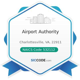 Airport Authority - NAICS Code 532112 - Passenger Car Leasing