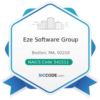 Eze Software Group - NAICS Code 541511 - Custom Computer Programming Services
