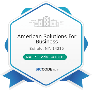 American Solutions For Business - NAICS Code 541810 - Advertising Agencies