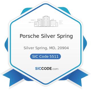 Porsche Silver Spring >> Porsche Silver Spring Zip 20904 Naics 441110