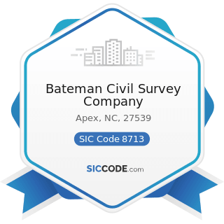 Bateman Civil Survey Company - SIC Code 8713 - Surveying Services