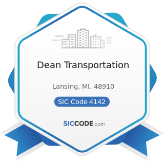 Dean Transportation - SIC Code 4142 - Bus Charter Service, except Local