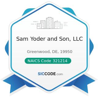 Sam Yoder and Son, LLC - NAICS Code 321214 - Truss Manufacturing