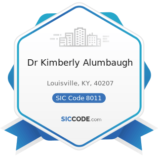 Dr Kimberly Alumbaugh - SIC Code 8011 - Offices and Clinics of Doctors of Medicine