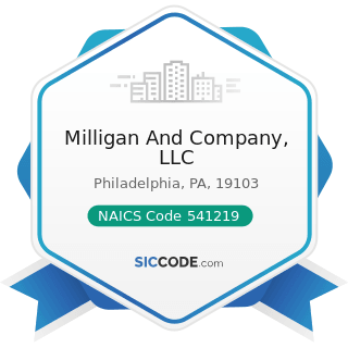 Milligan And Company, LLC - NAICS Code 541219 - Other Accounting Services