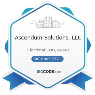 Ascendum Solutions, LLC - SIC Code 7371 - Computer Programming Services