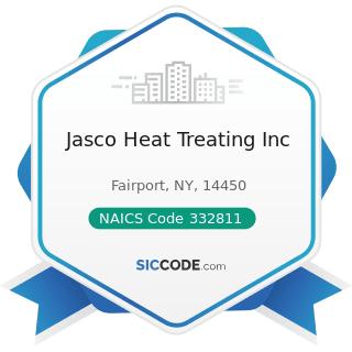 Jasco Heat Treating Inc - NAICS Code 332811 - Metal Heat Treating
