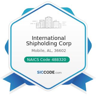 International Shipholding Corp - NAICS Code 488320 - Marine Cargo Handling