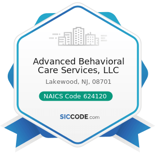 Advanced Behavioral Care Services, LLC - NAICS Code 624120 - Services for the Elderly and...