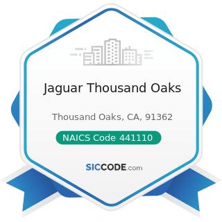 Jaguar Thousand Oaks - NAICS Code 441110 - New Car Dealers