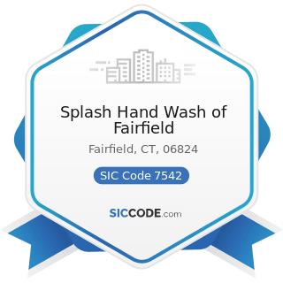 Splash Hand Wash of Fairfield - SIC Code 7542 - Car Washes