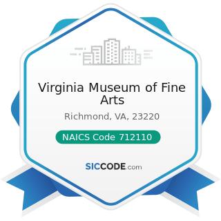 Virginia Museum of Fine Arts - NAICS Code 712110 - Museums