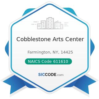 Cobblestone Arts Center - NAICS Code 611610 - Fine Arts Schools