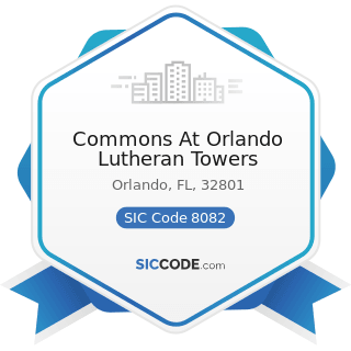 Commons At Orlando Lutheran Towers - SIC Code 8082 - Home Health Care Services