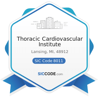 Thoracic Cardiovascular Institute - SIC Code 8011 - Offices and Clinics of Doctors of Medicine