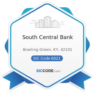 South Central Bank - SIC Code 6021 - National Commercial Banks