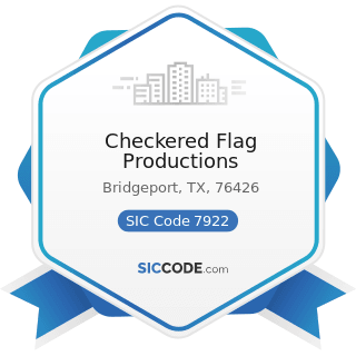 Checkered Flag Productions - SIC Code 7922 - Theatrical Producers (except Motion Picture) and...
