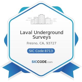 Laval Underground Surveys - SIC Code 8713 - Surveying Services