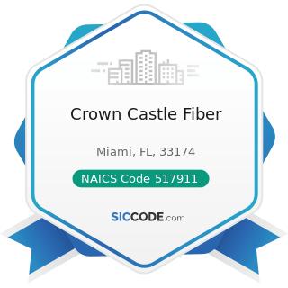 Crown Castle Fiber - NAICS Code 517911 - Telecommunications Resellers