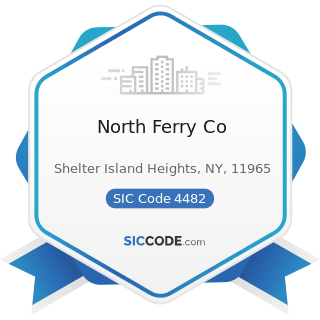 North Ferry Co - SIC Code 4482 - Ferries