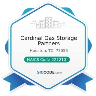 Cardinal Gas Storage Partners - NAICS Code 221210 - Natural Gas Distribution