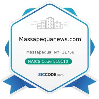 Massapequanews.com - NAICS Code 519110 - News Syndicates