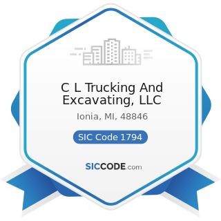 C L Trucking And Excavating, LLC - SIC Code 1794 - Excavation Work