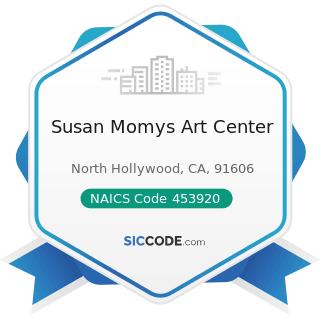 Susan Momys Art Center - NAICS Code 453920 - Art Dealers