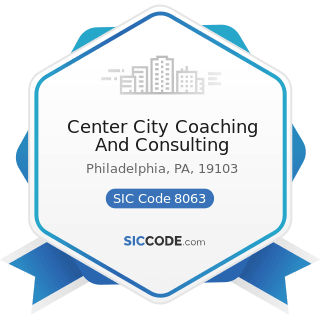 Center City Coaching And Consulting - SIC Code 8063 - Psychiatric Hospitals