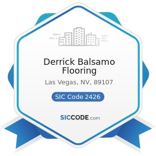 Derrick Balsamo Flooring - SIC Code 2426 - Hardwood Dimension and Flooring Mills