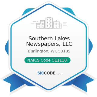 Southern Lakes Newspapers, LLC - NAICS Code 511110 - Newspaper Publishers