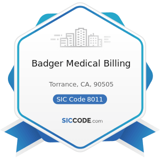Badger Medical Billing - SIC Code 8011 - Offices and Clinics of Doctors of Medicine