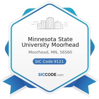 Minnesota State University Moorhead - SIC Code 9121 - Legislative Bodies