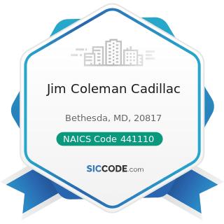 Jim Coleman Cadillac - NAICS Code 441110 - New Car Dealers