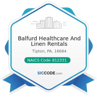 Balfurd Healthcare And Linen Rentals - NAICS Code 812331 - Linen Supply